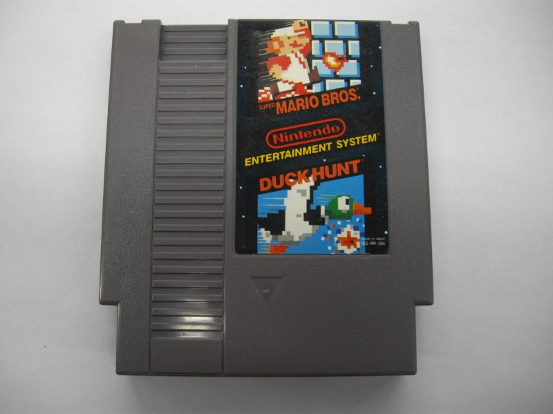 NINTENDO NES Game MARIO BROS AND DUCK HUNT