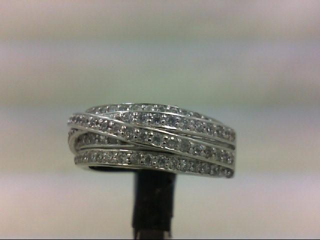 Lady's Silver Wedding Band 925 Silver 4.6g