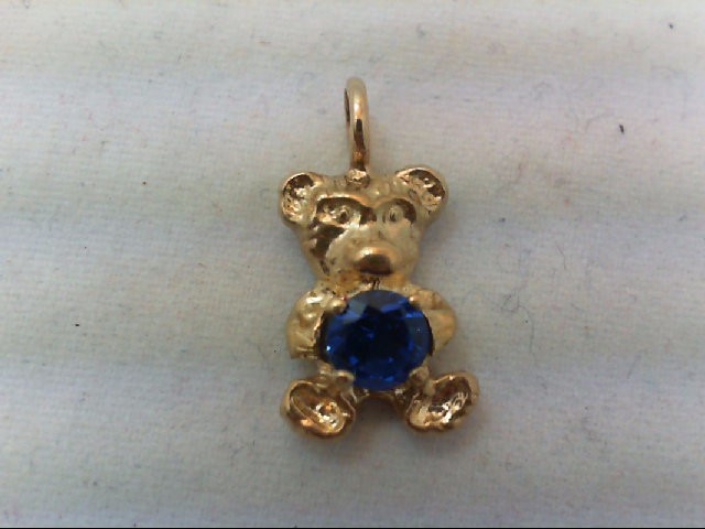 Gold Pendant 10K Yellow Gold 1.6g