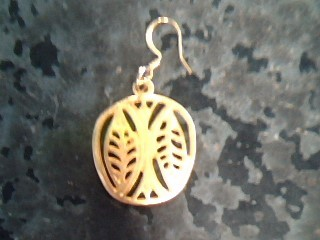 Gold Earrings 10K Yellow Gold 2.3dwt