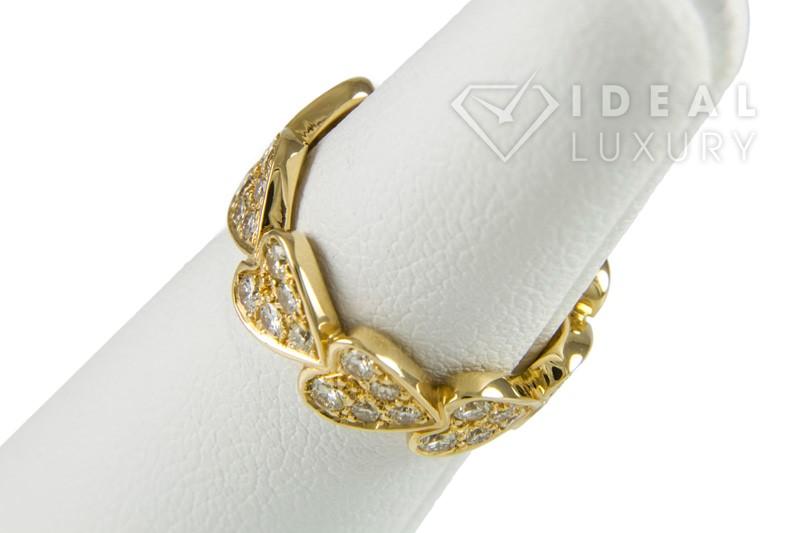 Cartier Lady's Diamond Fashion Ring 45 Diamonds 1.35 Carat T.W. 18K Yellow Gold