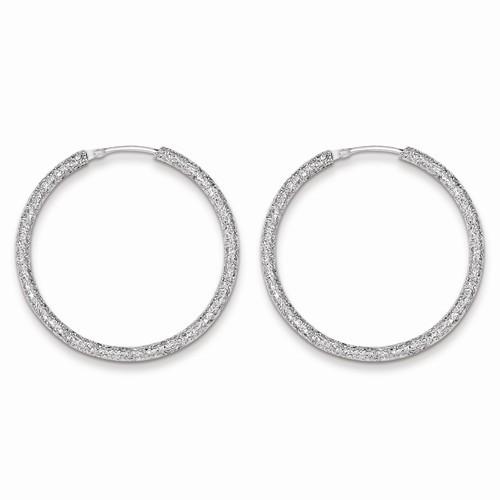 Silver Earrings 925 Silver 3.27g
