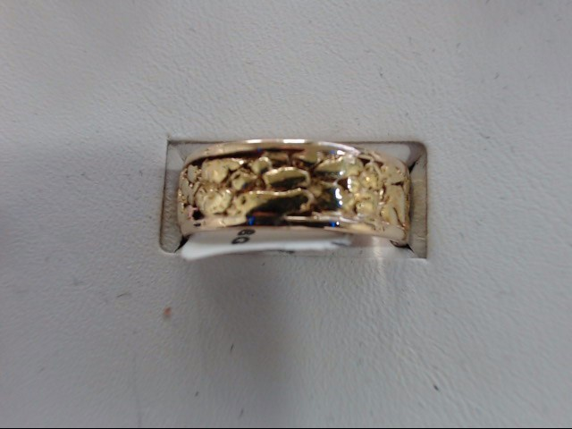 Gent's Gold Ring 14K Yellow Gold 4.6g