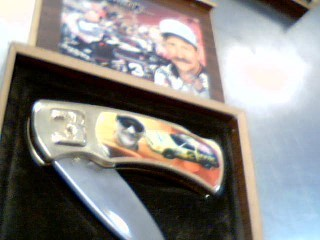 DALE EARNHARDT KNIFE,CASE