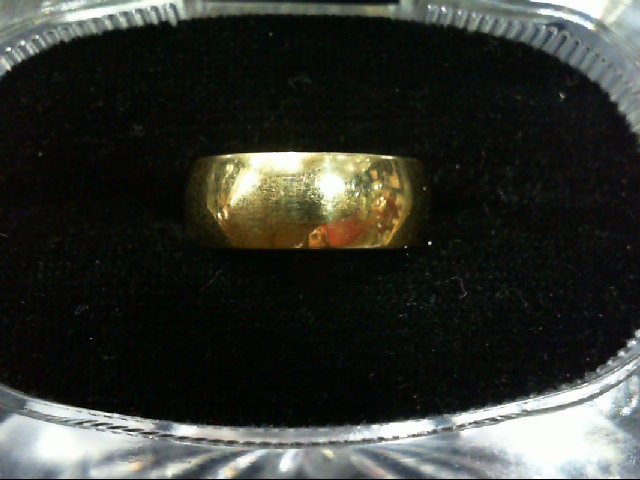 Lady's Gold Wedding Band 14K Yellow Gold 5.8g Size:5