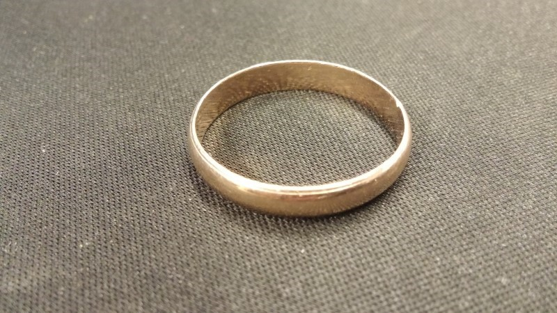 Gent's Gold Ring 14K Yellow Gold 2.4dwt Size:13