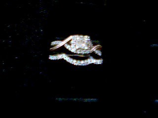 Lady's Diamond Engagement Ring 31 Diamonds .62 Carat T.W. 10K White Gold 3.9g