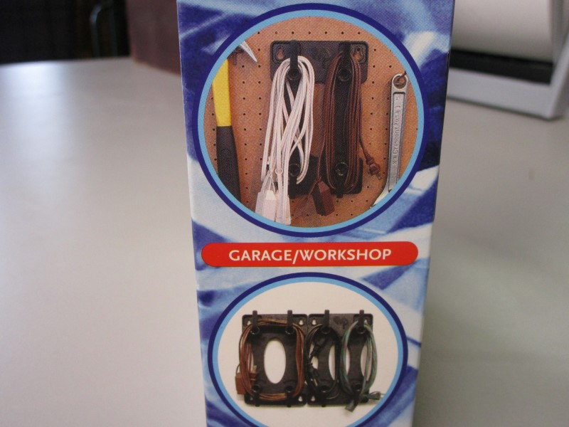 "CORDCADDY CORD ORGANIZER, NEW IN BOX, ""CONTROL CORD CHAOS WITH THE CORDCADDY!!!"""