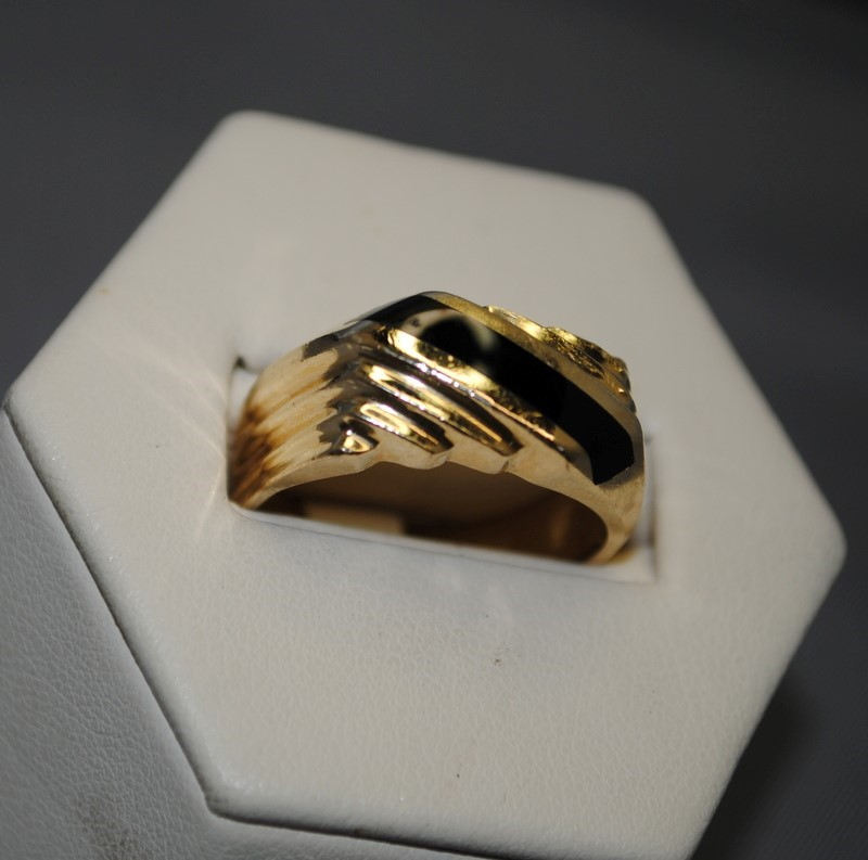 Gent's Gold Ring 14K Yellow Gold 6.9g