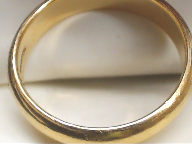 Gent's Gold Wedding Band 14K Yellow Gold 5.9g Size:9.5