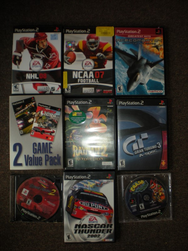 SONY Sony PlayStation 2 PS2 GAMES - 10 GAMES