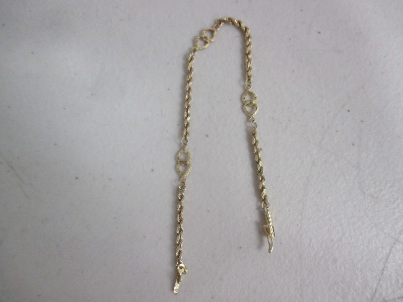 Gold Bracelet 10K Yellow Gold 2.05g
