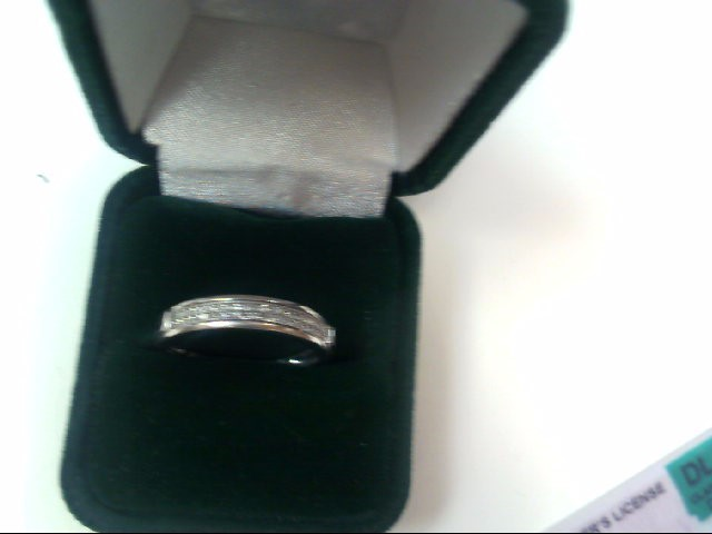 Lady's Diamond Wedding Band 44 Diamonds .220 Carat T.W. 10K White Gold 1.8dwt