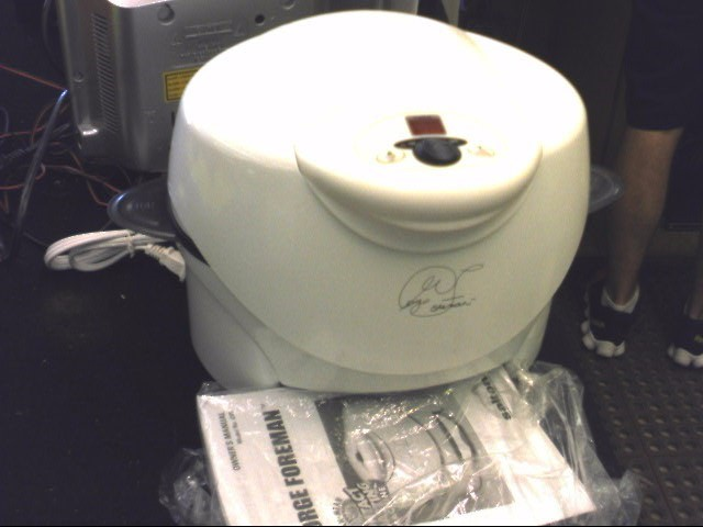 GEORGE FOREMAN Miscellaneous Appliances SALTON GV5