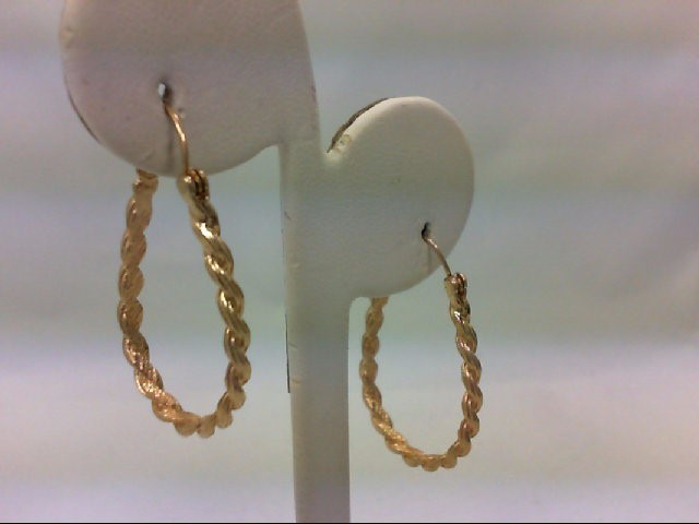 Gold Earrings 14K Yellow Gold 4.3g