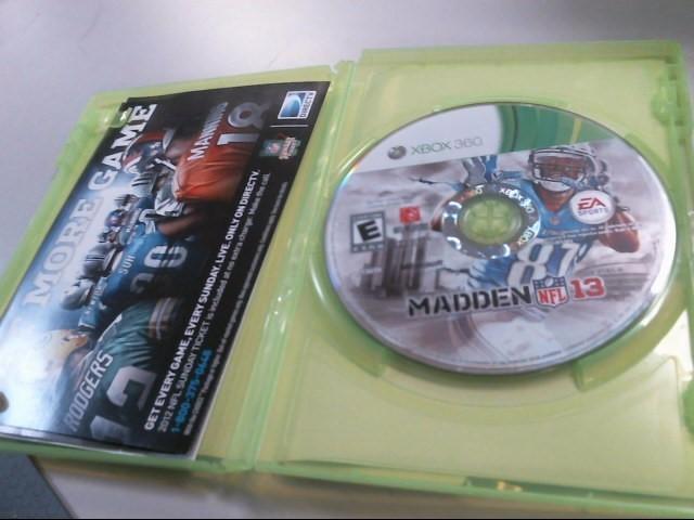 MICROSOFT Microsoft XBOX 360 MADDEN NFL 13 - XBOX 360
