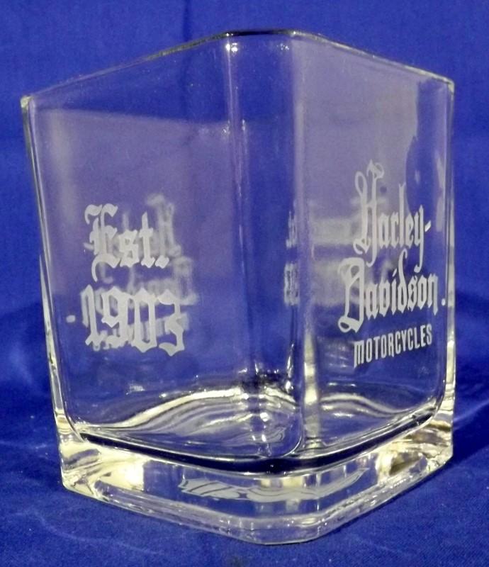 HARLEY DAVIDSON LARGE TUMBLER GLASS