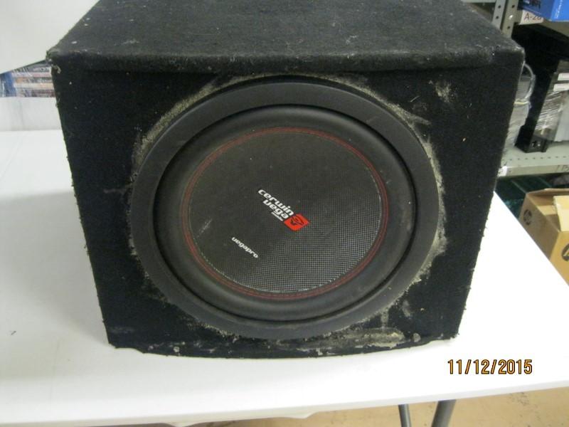 CERWIN VEGA Speakers/Subwoofer VPR0124D 1800W WOOFER