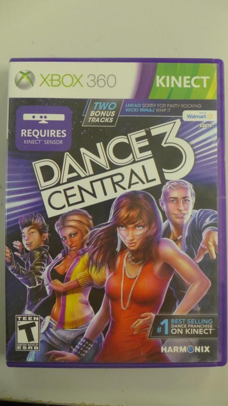 HARMONIX Microsoft XBOX 360 DANCE CENTRAL 3