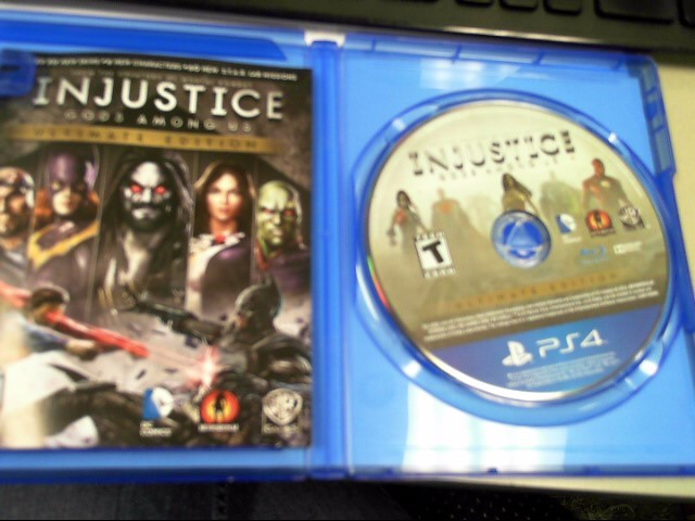 SONY Sony PlayStation 4 INJUSTICE - GODS AMONG US ULTIMATE EDITION