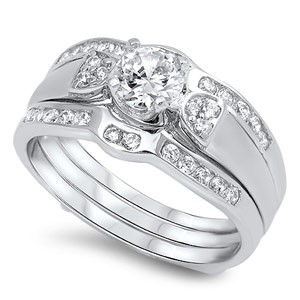 Lady's Silver Ring 925 Silver 5.8g Size:9
