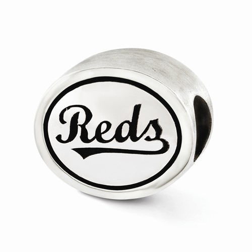Pandora Silver MLB Cincinnati Reds Bead 925