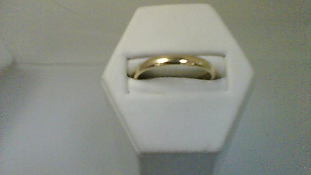 Gent's Gold Wedding Band 10K Yellow Gold 2.6g