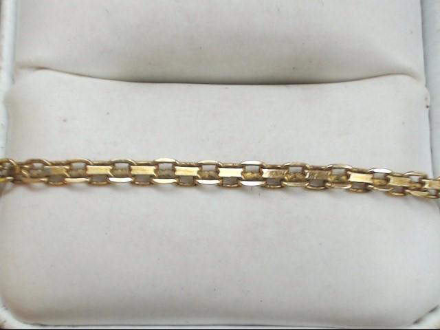 "20"" Gold Fashion Chain 14K Yellow Gold 6.5g"