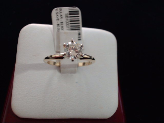 Lady's Gold Ring 14K Yellow Gold 2.2g