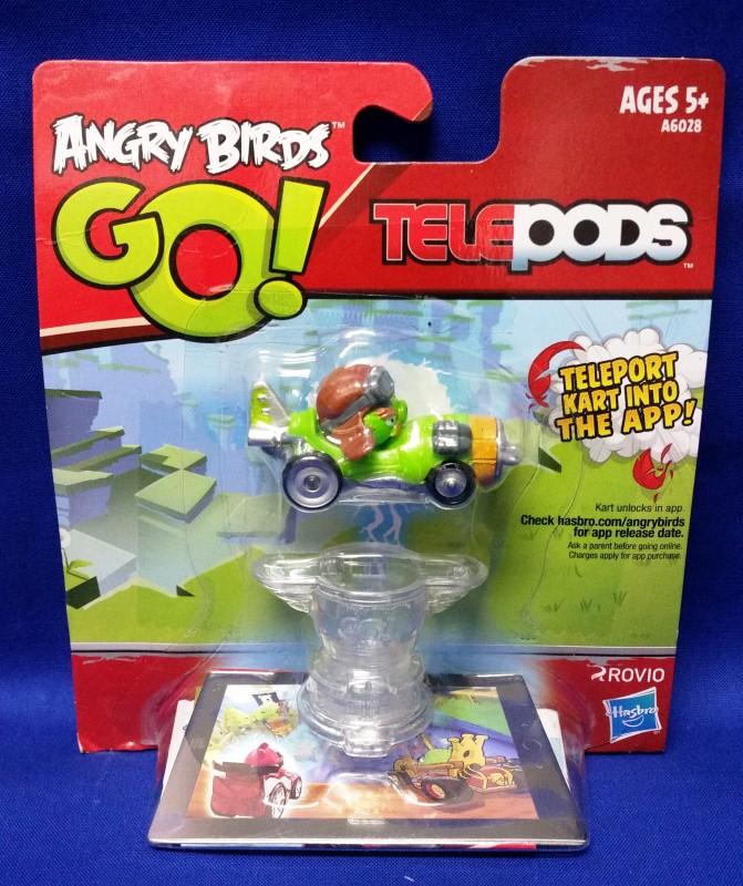 HASBRO ANGRY BIRDS GO! TELEPODS GREEN PIG
