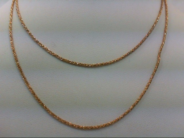 "24"" Gold Chain 14K Yellow Gold 3.5g"