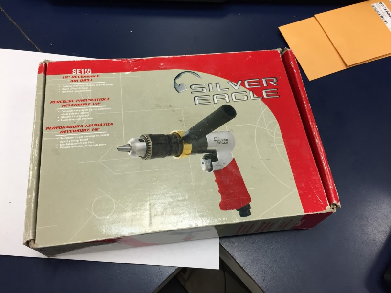 MATCO TOOLS Silver Eagle Reversible Air Drill SE155