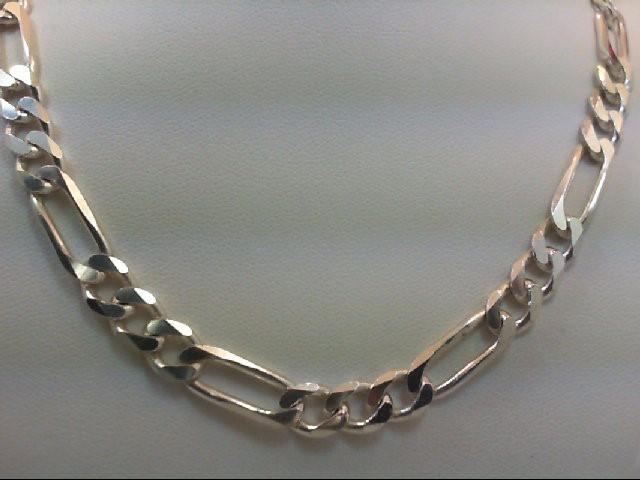 "19"" Silver Chain 925 Silver 31.9g"