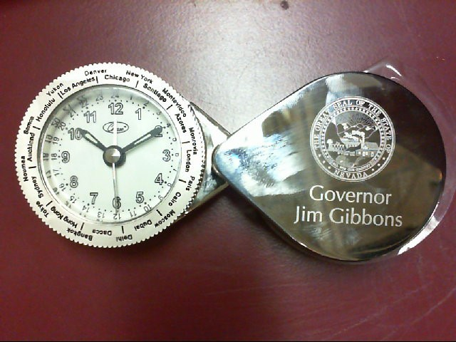 CHASS POCKET WATCH JIM GIBBONS NEVADA