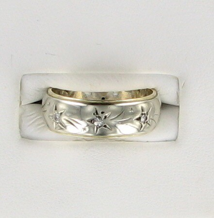 Lady's Gold Ring 14K Yellow Gold 4.5dwt