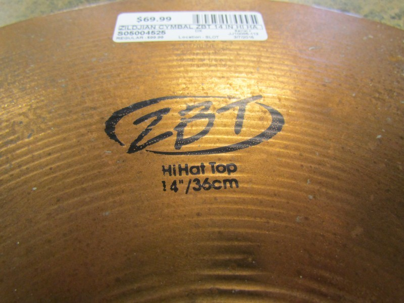 ZILDJIAN Cymbal ZBT 14 IN HI HAT SET
