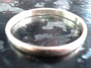 Lady's Gold Ring 10K Yellow Gold 0.5dwt