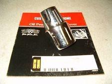 CUSTOM CHROME 46328 DOSS CHROME RIBBED OIL PREASURE SWITCH COVER