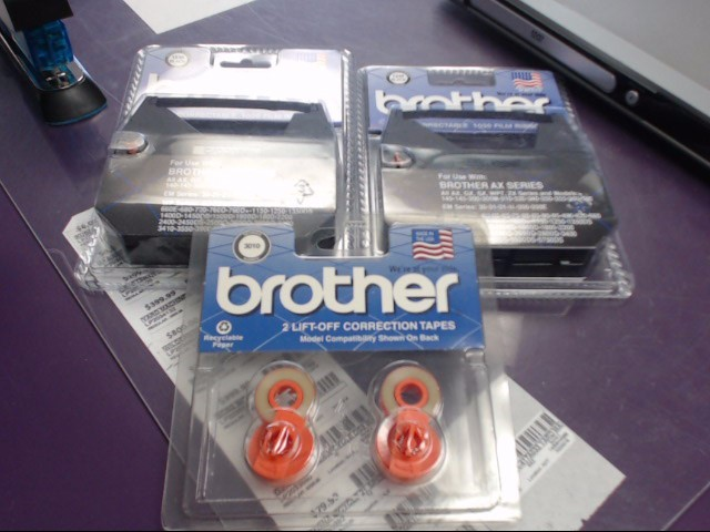 BROTHER CORRECTABLE TYPEWRITER RIBBONS