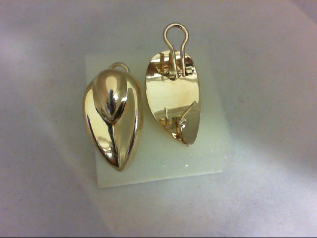Gold Earrings 14K Yellow Gold 9.2g