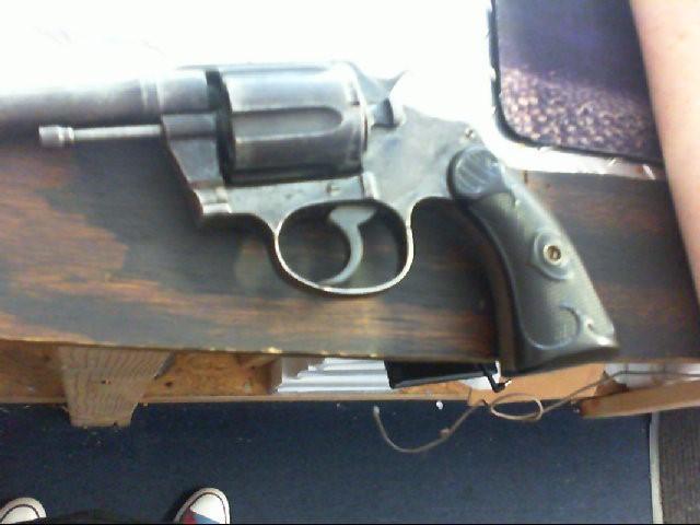 COLT Revolver OFFICIAL POLICE