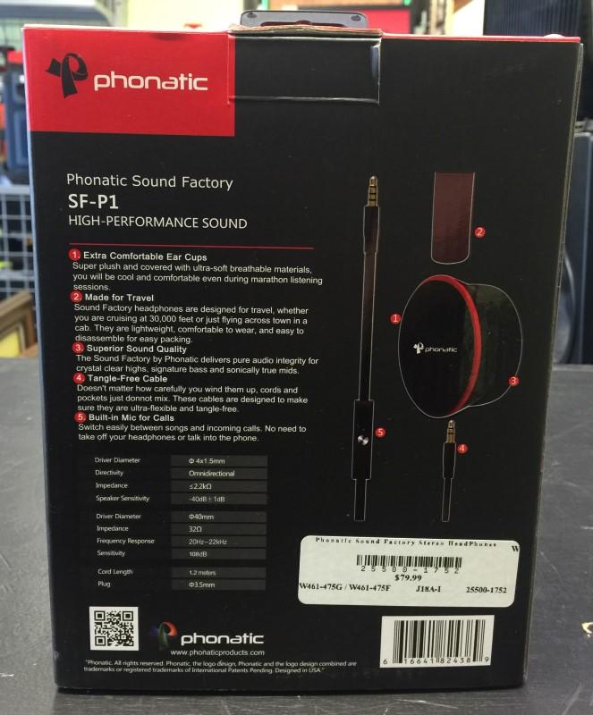 PHONATIC Headphones SF-P1