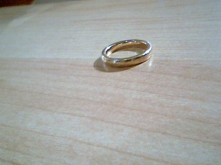 Lady's Gold Ring 14K Yellow Gold 3.7g