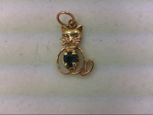Gold Pendant 14K Yellow Gold 0.7g