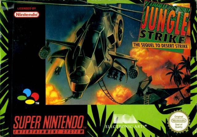 NINTENDO Nintendo SNES JUNGLE STRIKE