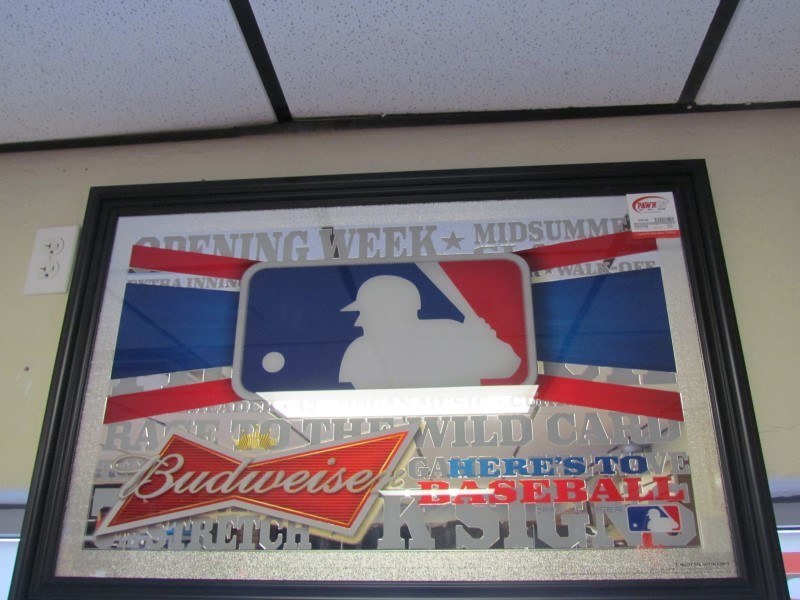 BUD Sign BUDWEISER OPENING WEEK SIGN