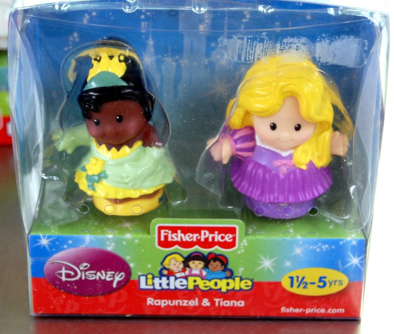 LITTLE PEOPLE DISNEY 2PK RAPUNZEL/TIANA