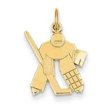 Gold Charm 10K Yellow Gold 0.6dwt