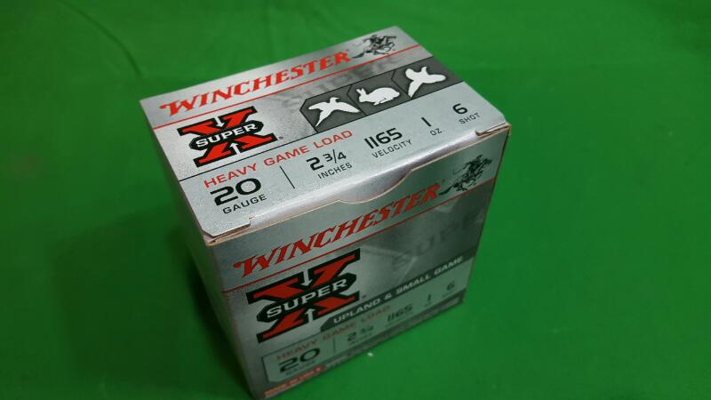 WINCHESTER Ammunition XU20H6 XU20H6
