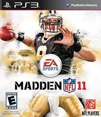 SONY Sony PlayStation 3 PLAYSTATION 3 MADDEN NFL 11